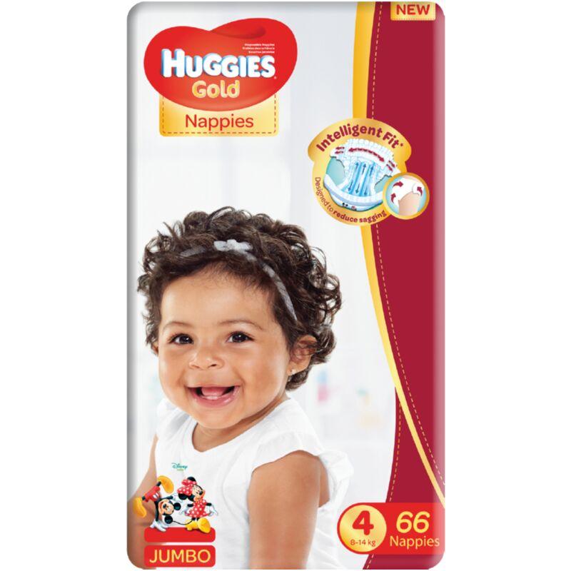 HUGGIES GOLD SIZE 4 UNISEX JP – 66S