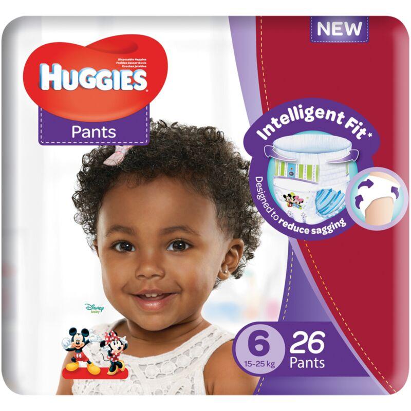 HUGGIES PANTS SIZE 6 UNISEX CP – 26S
