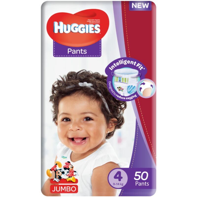 HUGGIES PANTS SIZE 4 UNISEX JP – 50S