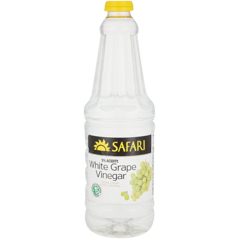SAFARI VINEGAR GRAPE WHITE – 750ML
