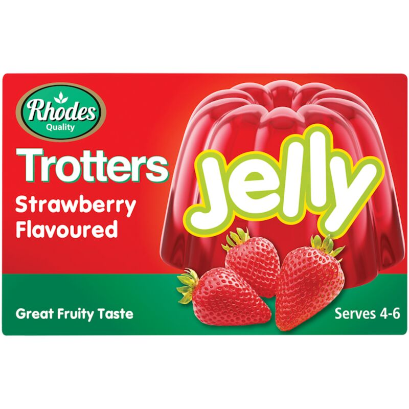 TROTTERS JELLY STRAWBERRY – 40G