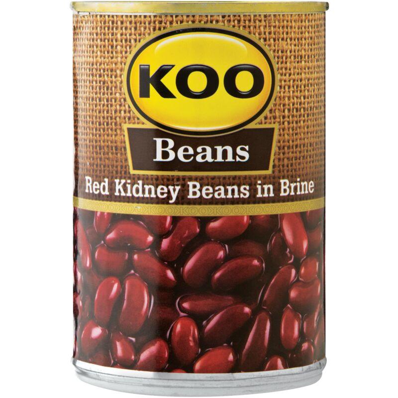 KOO RED KIDNEY BEANS – 410G