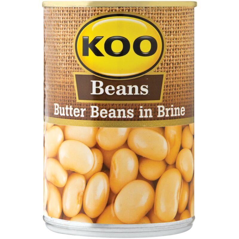 KOO BUTTER BEANS – 410G
