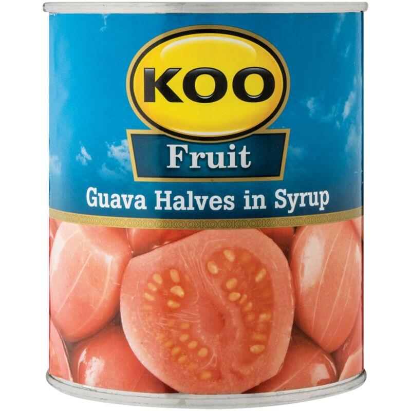 KOO GUAVA HALVES – 825G