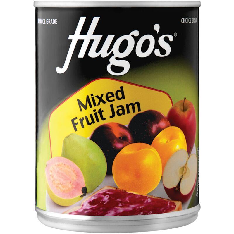 HUGOS JAM MIXED FRUIT – 450G