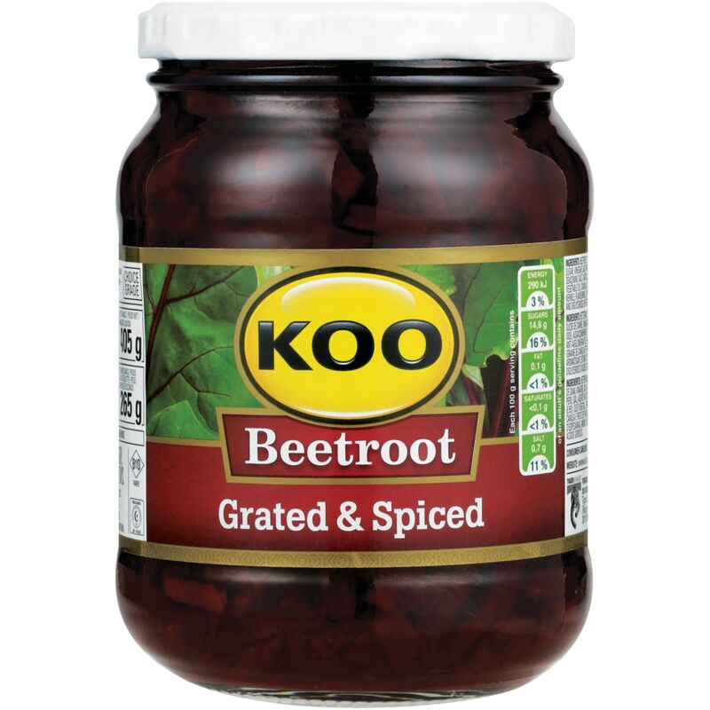 KOO BEETROOT SALAD GRATED – 405G