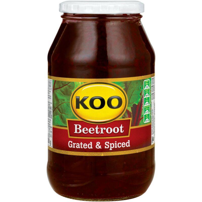 KOO BEETROOT SALAD GRATED – 780G