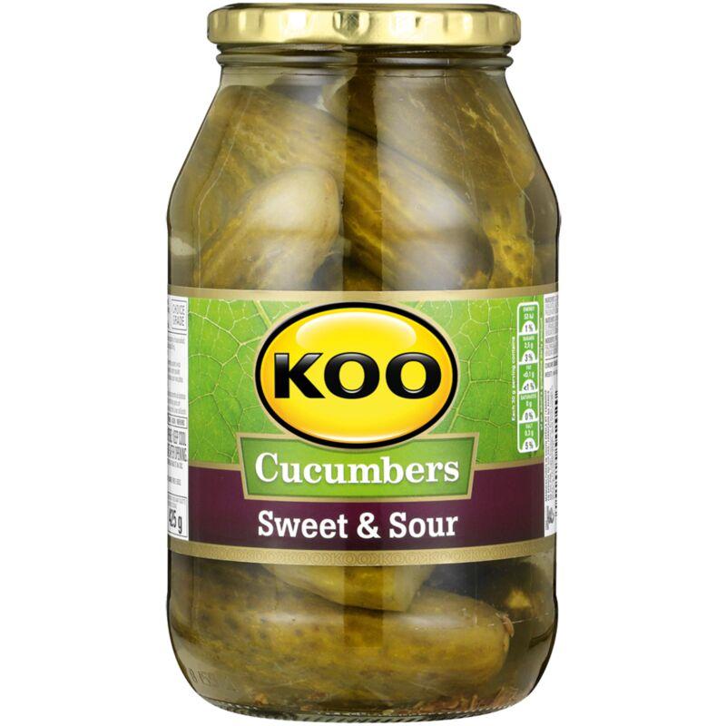 KOO CUCUMBERS JAR SWEET & SOUR – 750G