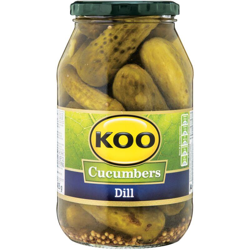 KOO CUCUMBERS JAR DILL – 750G