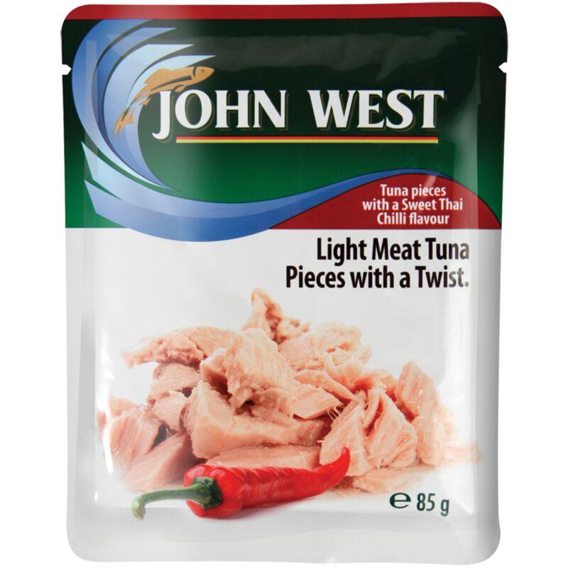 JOHN WEST TUNA POUCH SWEET THAI CHILLI – 85G
