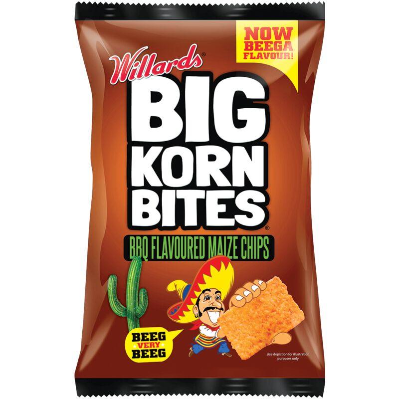 BIG KORN BITES BBQ – 120G