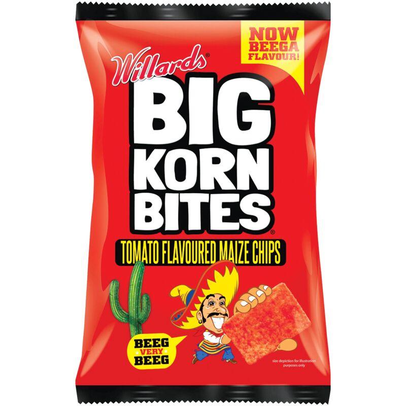 BIG KORN BITES TOMATO – 120G