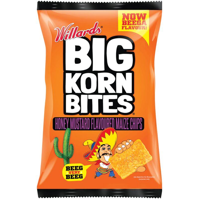 BIG KORN BITES HONEY MUSTARD – 120G
