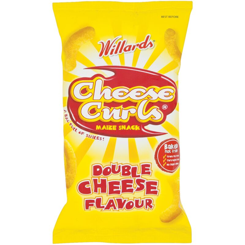 CHEESE CURLS DOUBLE CHEESE – 14G