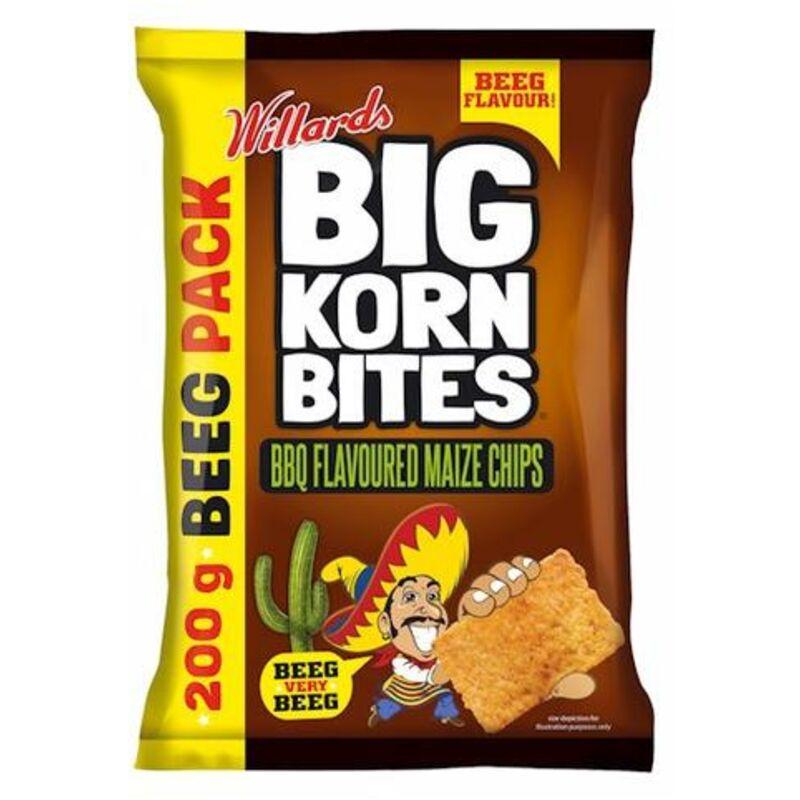 BIG KORN BITES BARBEQUE – 200G
