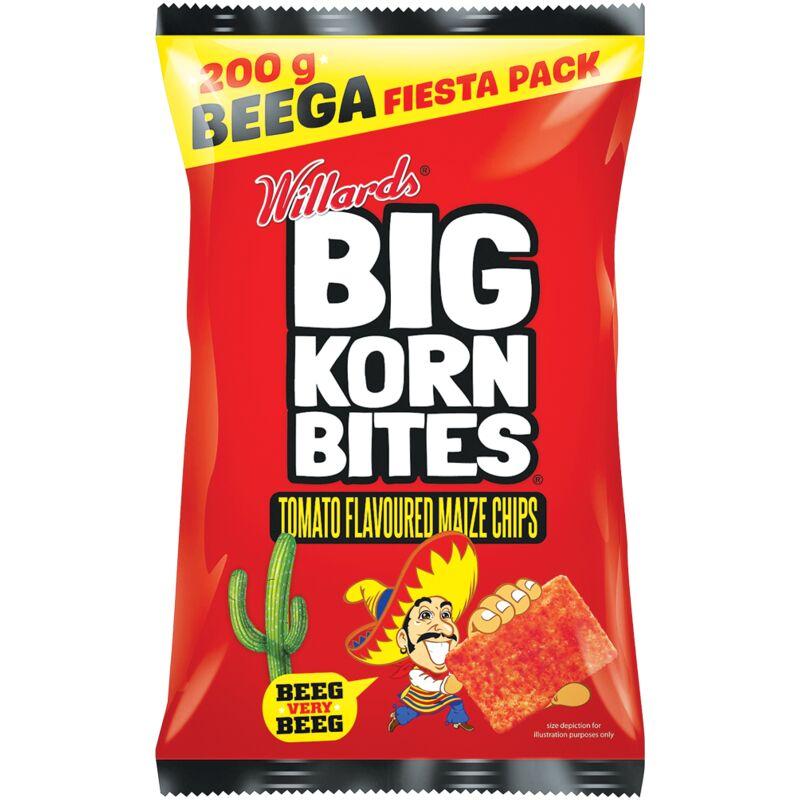 BIG KORN BITES TOMATO – 200G