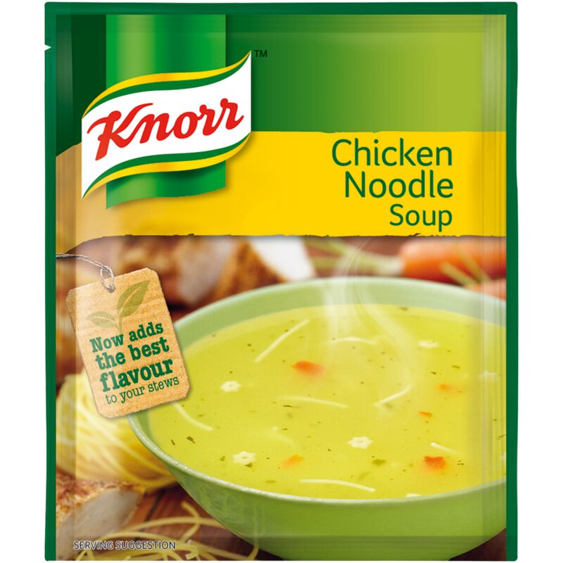 KNORR SOUP CHICKEN & NOODLE – 50G