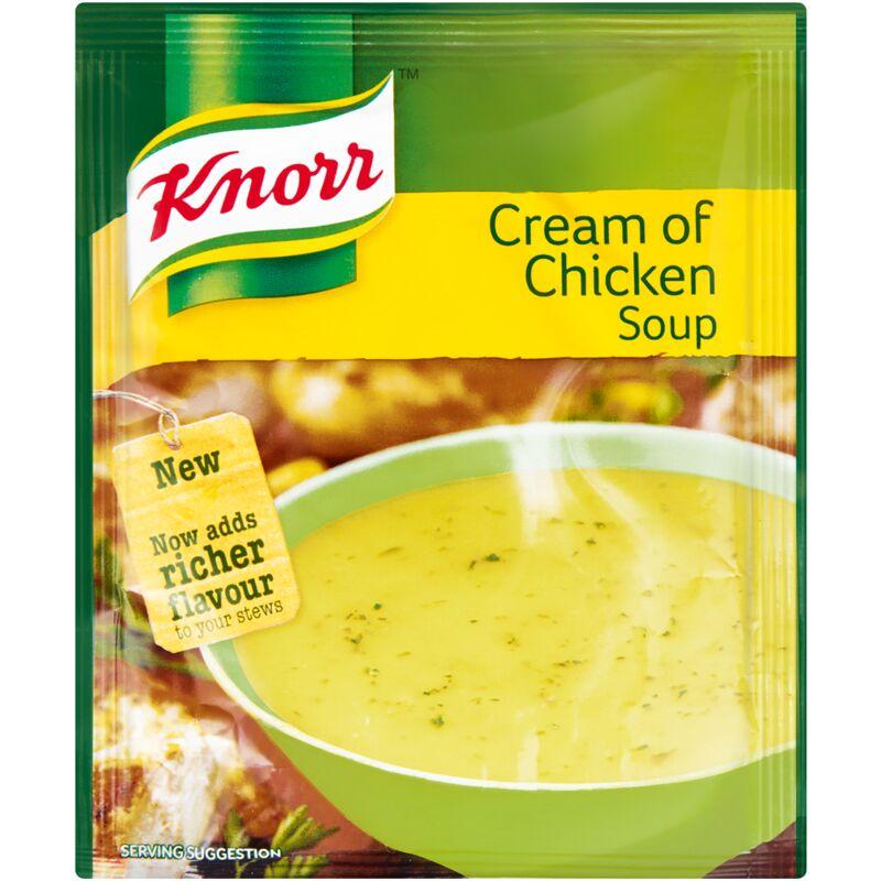 KNORR SOUP CREAM OF CHICKEN – 50G