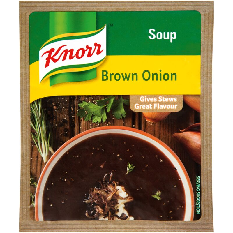KNORR SOUP BROWN ONION – 50G