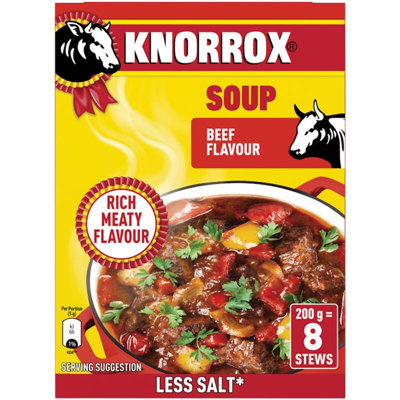 KNORROX SOUP BEEF – 200G