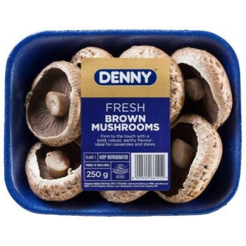 DENNY MUSHROOMS BROWN – 250G