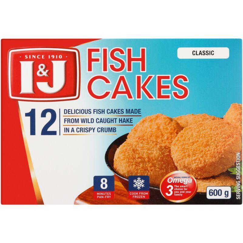 I&J TASTY FISH CAKES – 600G