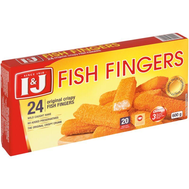 I&J ORIGINAL FISH FINGERS – 600G