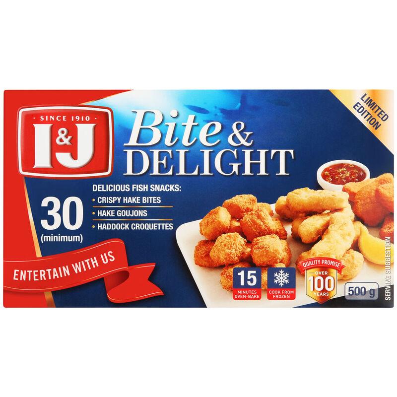 I&J BITE & DELIGHT – 500G