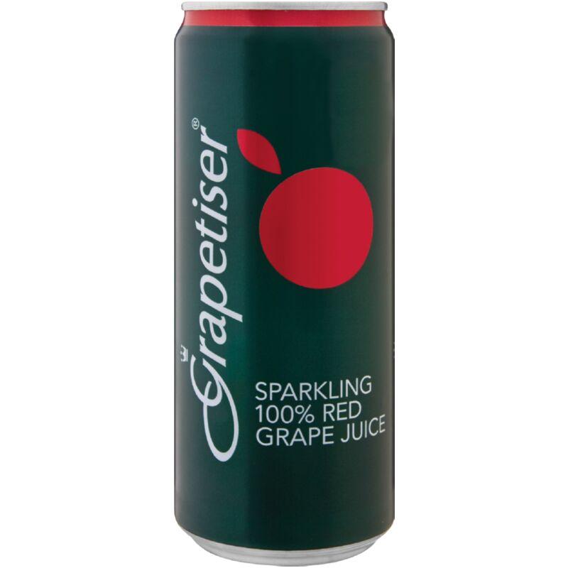 GRAPETISER 100% RED JUICE – 330ML