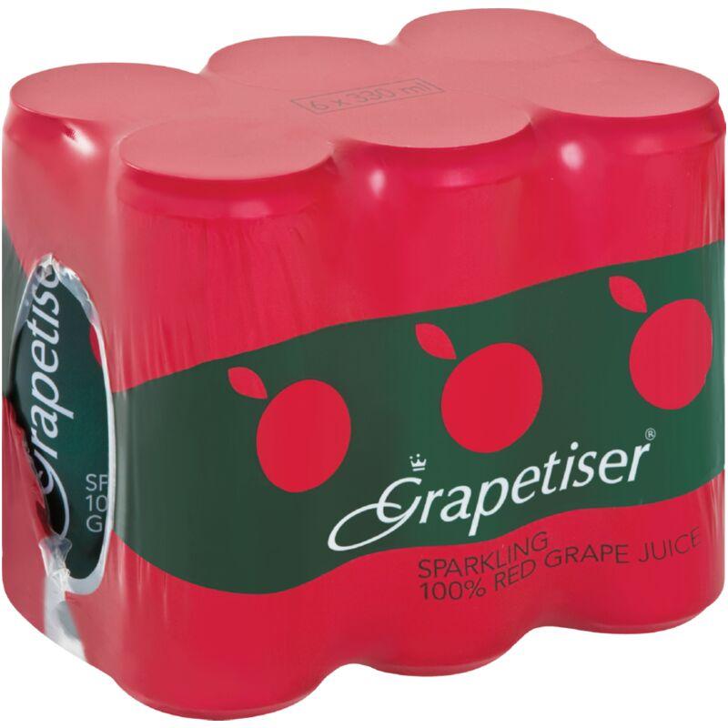 GRAPETISER 100% RED JUICE SLENDER 6S – 330ML