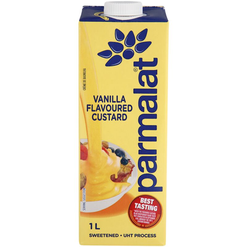 PARMALAT CUSTARD VANILLA – 1L