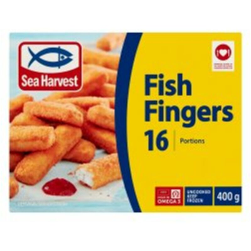 SEA HARVEST FISH FINGERS – 400G