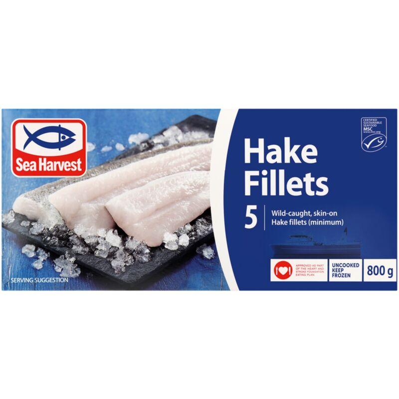 SEA HARVEST HAKE PRIME FILLETS – 800G