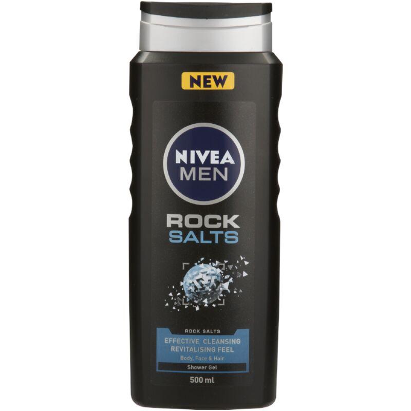 NIVEA MEN BODYWASH ROCK SALTS – 500ML
