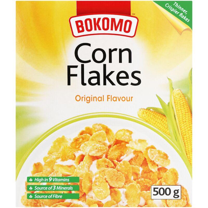 BOKOMO CORN FLAKES – 500G