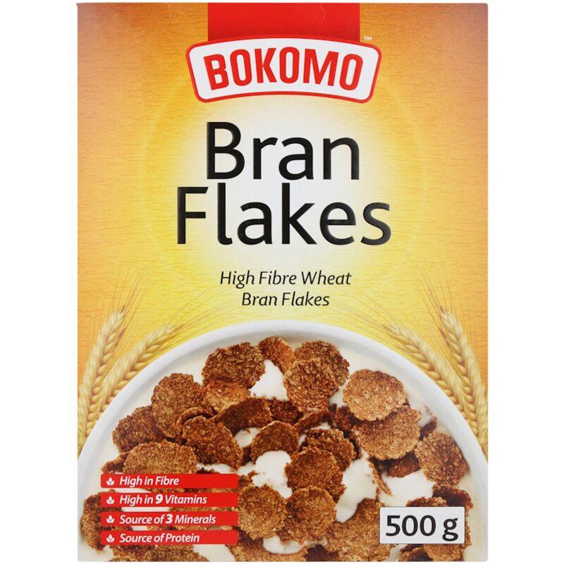 BOKOMO RIGHT START BRAN FLAKES – 500G