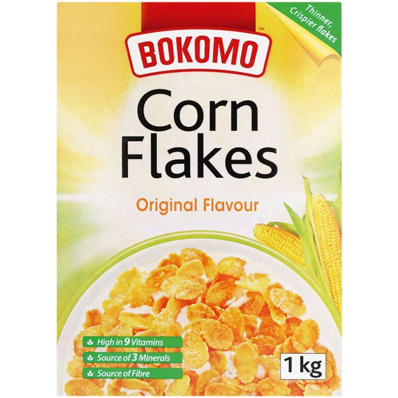 BOKOMO CORN FLAKES – 1KG