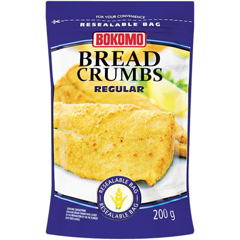 BOKOMO BREAD CRUMBS REGULAR – 200G