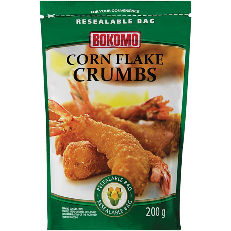 BOKOMO CORN FLAKE CRUMBS – 200G