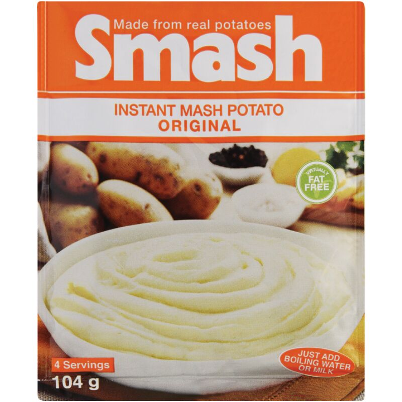 SMASH INSTANT MASH ORIGINAL – 104G