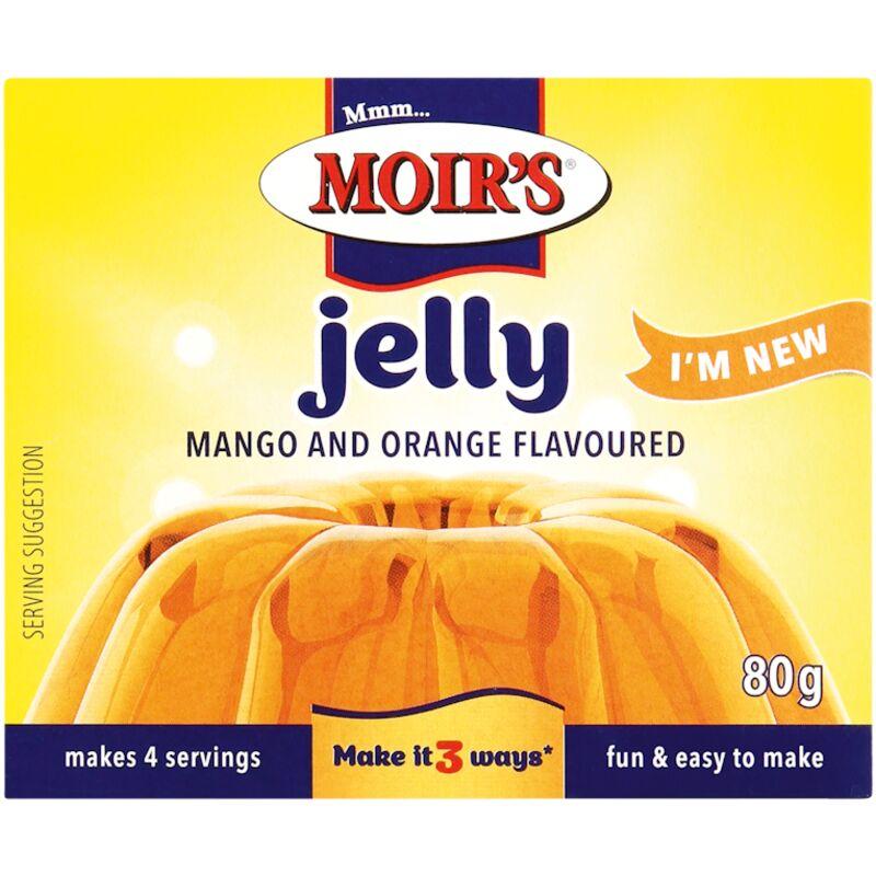 MOIRS JELLY MANGO ORANGE – 80G
