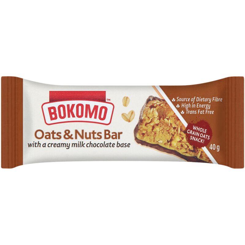 BOKOMO BARS NUTS OATS – 40G