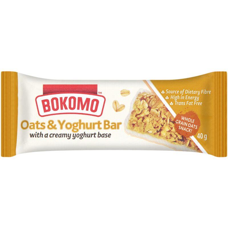 BOKOMO BARS YOGHURT OATS – 40G