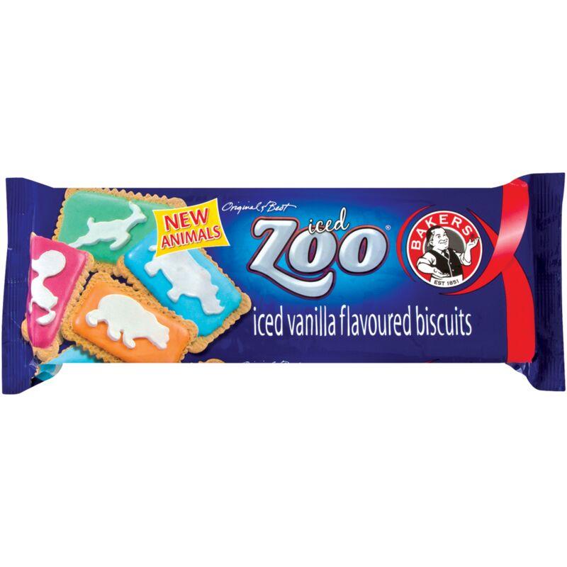 BAKERS KIDZ ICED ZOO – 150G
