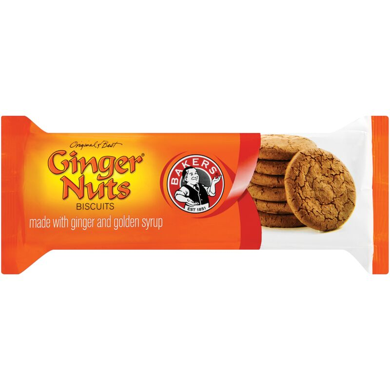 BAKERS GINGER NUTS – 200G