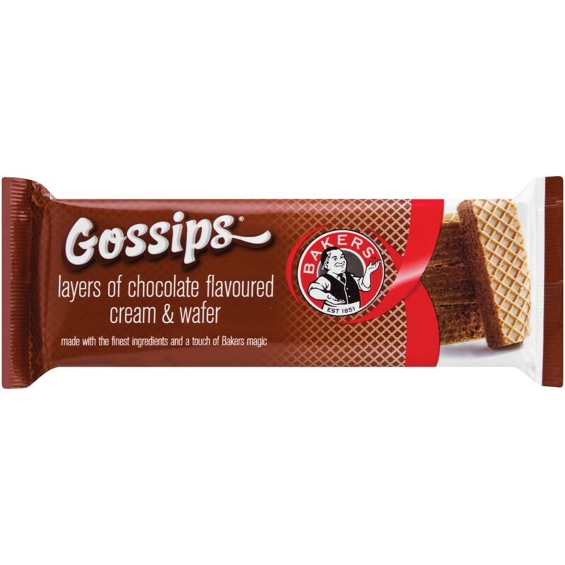 BAKERS GOSSIPS CHOCOLATE – 100G