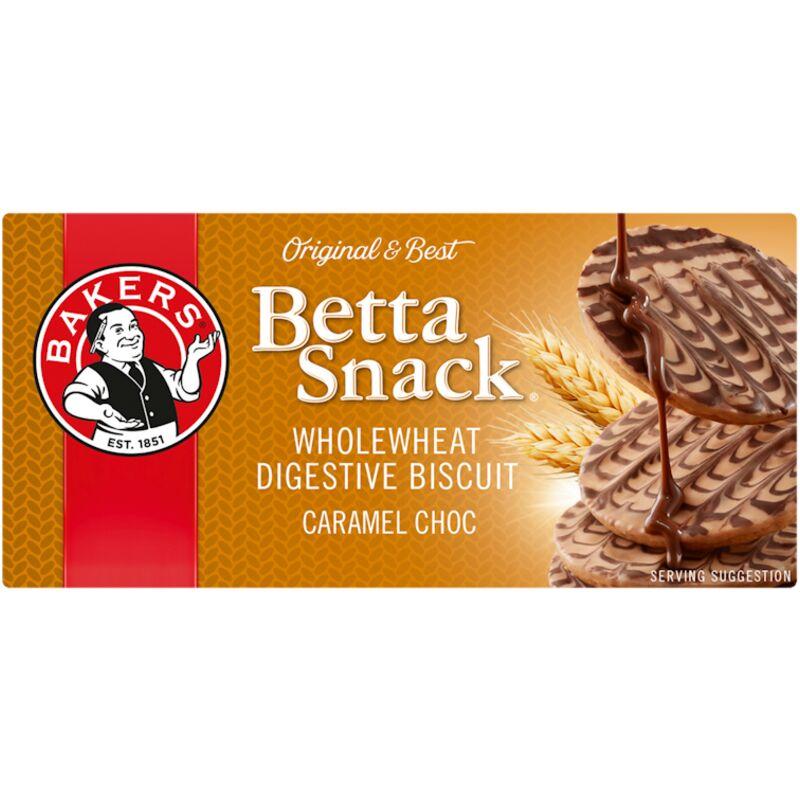 BAKERS BETA SNACK CARAMEL CHOCOLATE – 200G