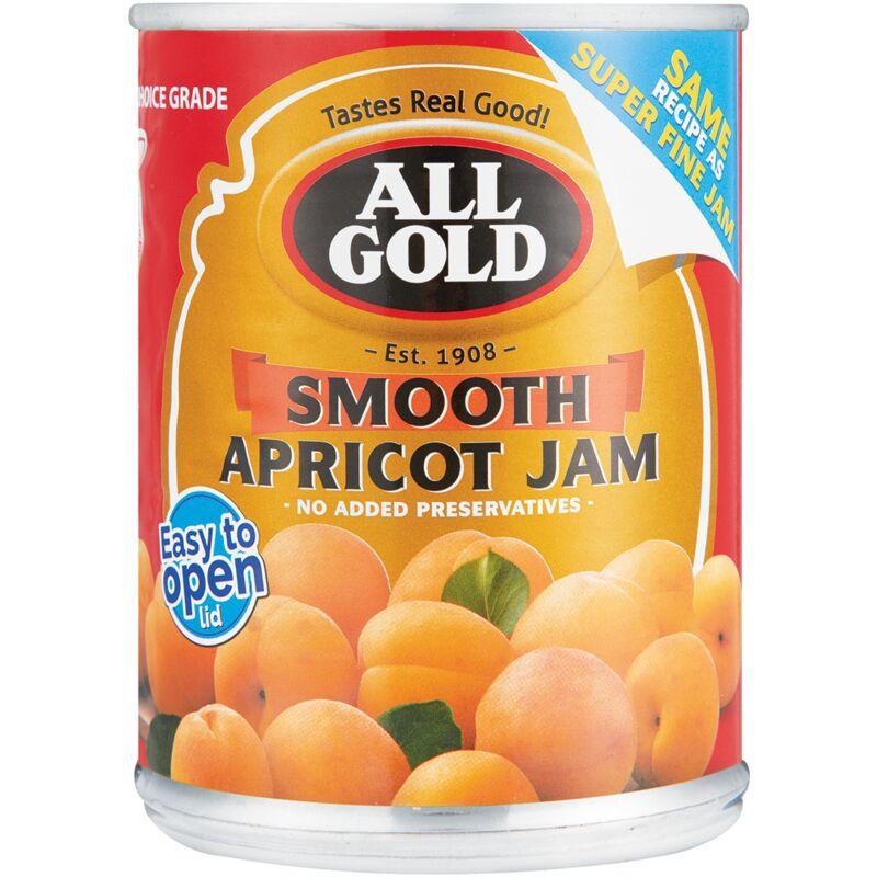 ALL GOLD JAM APRICOT SUPER FINE – 450G