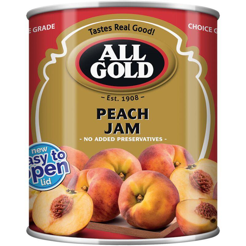ALL GOLD JAM PEACH SMOOTH – 450G