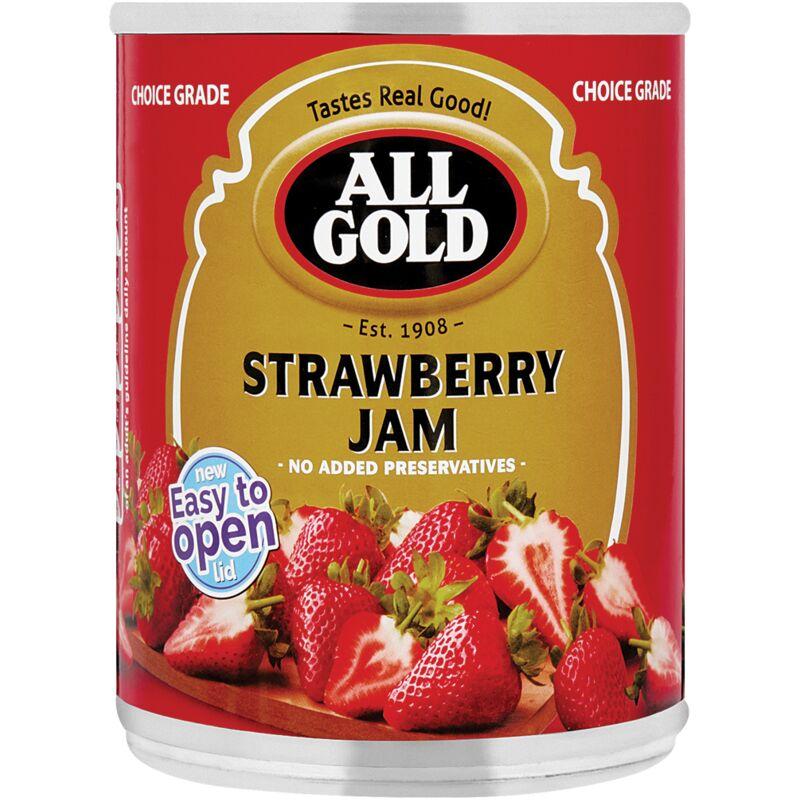 ALL GOLD JAM STRAWBERRY – 450G